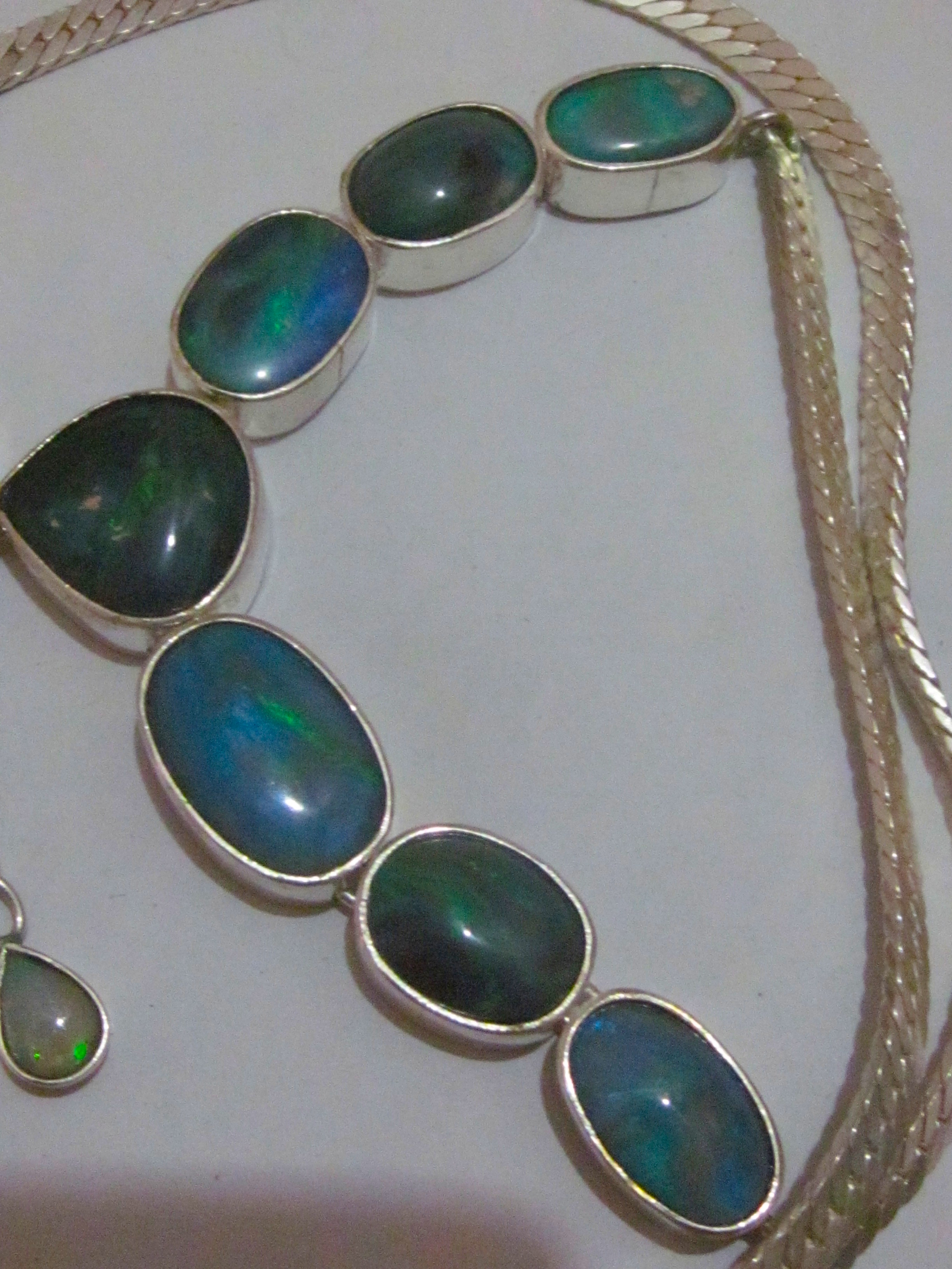 opal necklace online