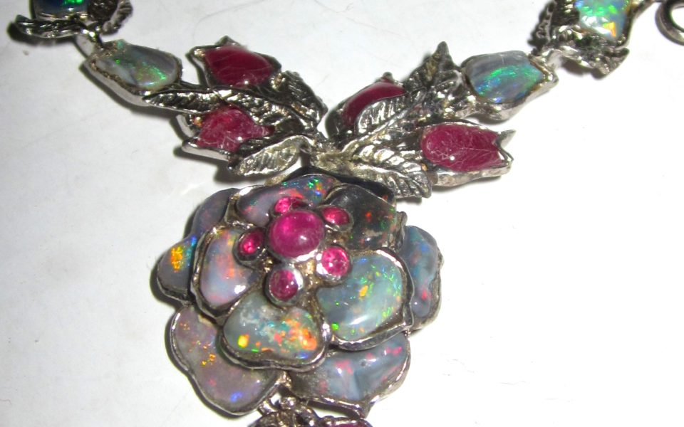 Fine jewelry opals handmade wholesale price $371.