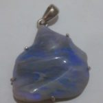 opal crystal pendant