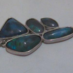 black opal jewellery,pendent black opals