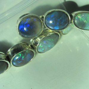 handmade opal earrings