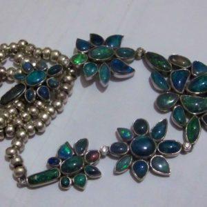 opal neck laces