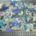 australian black opal rubs