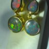 opal earings,opal earrings