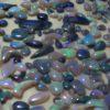cut opals,cut black opals
