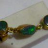 men opal earring