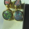 opal earings,opal earrings,black opal earings