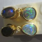 earrings opals,opal earrings