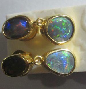 earrings opals,opal earrings