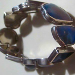 handcrafted opal bracelet