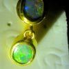 male opal earring
