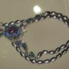 necklace handcrafted,opal necklace