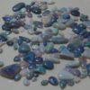 opal gemstone rubs
