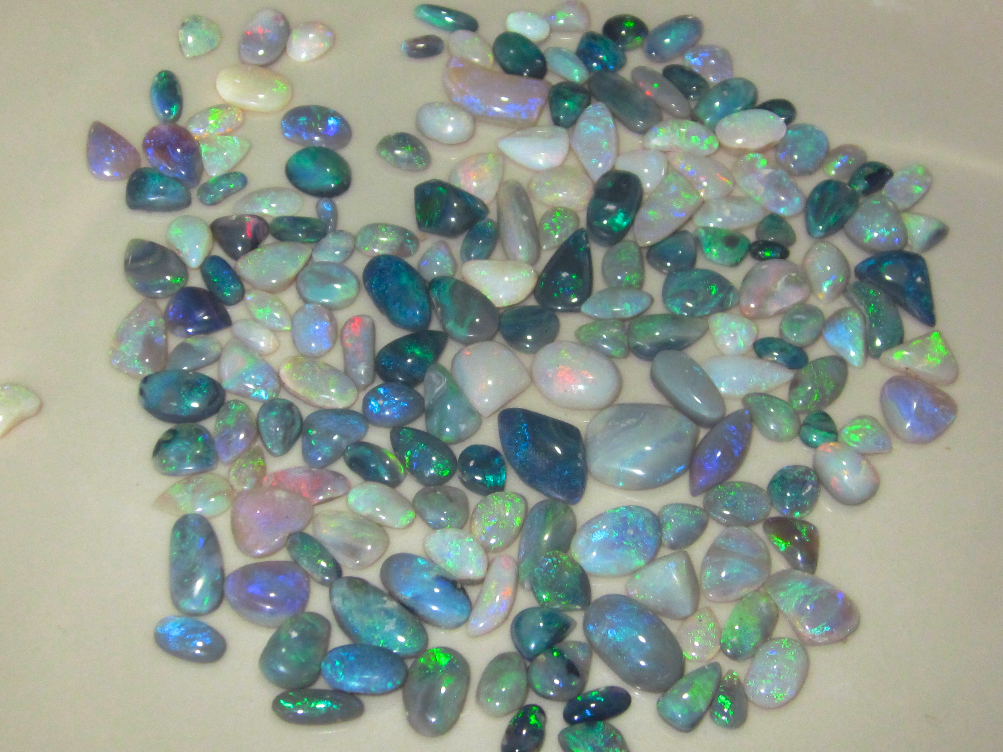 cut polish opals,polish opals,wholesale opals