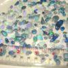 cut opals, opal rubs