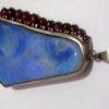 big opal pendant