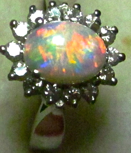 engagement opal ring,opal rings