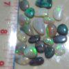 black opal gemstones