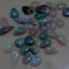 polished opals,opals parcel,black opal parcel