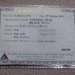 sale opal,opal gemstone certificates