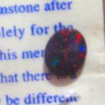 black fire opals