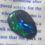 green blue opals