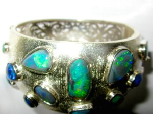 opal bracelet,black opal bracelet,bracelet, bracelet with opals
