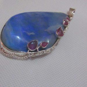 opal pendant,opal necklace