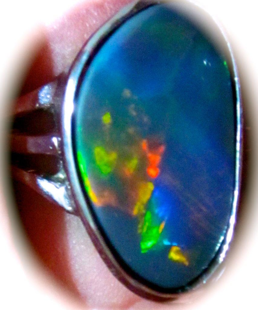 rings,opal rings,black opal rings