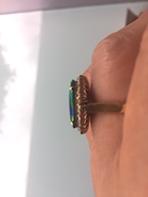 Opal Rings with Australian Insurance valuation certificate