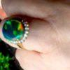 opal diamonds rings,opal rings,black opal rings