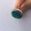 opal rings diamonds,opal rings,black opal rings