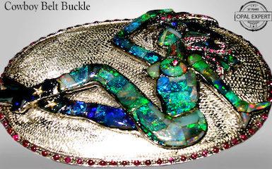 Australian Black Opal jewellery.