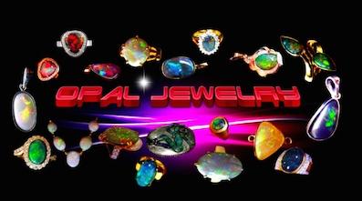 Australian Black Opal Rings.
