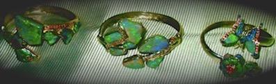 Handmade Opal Jewellery.