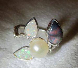 ring,opal jewellery,opal ring