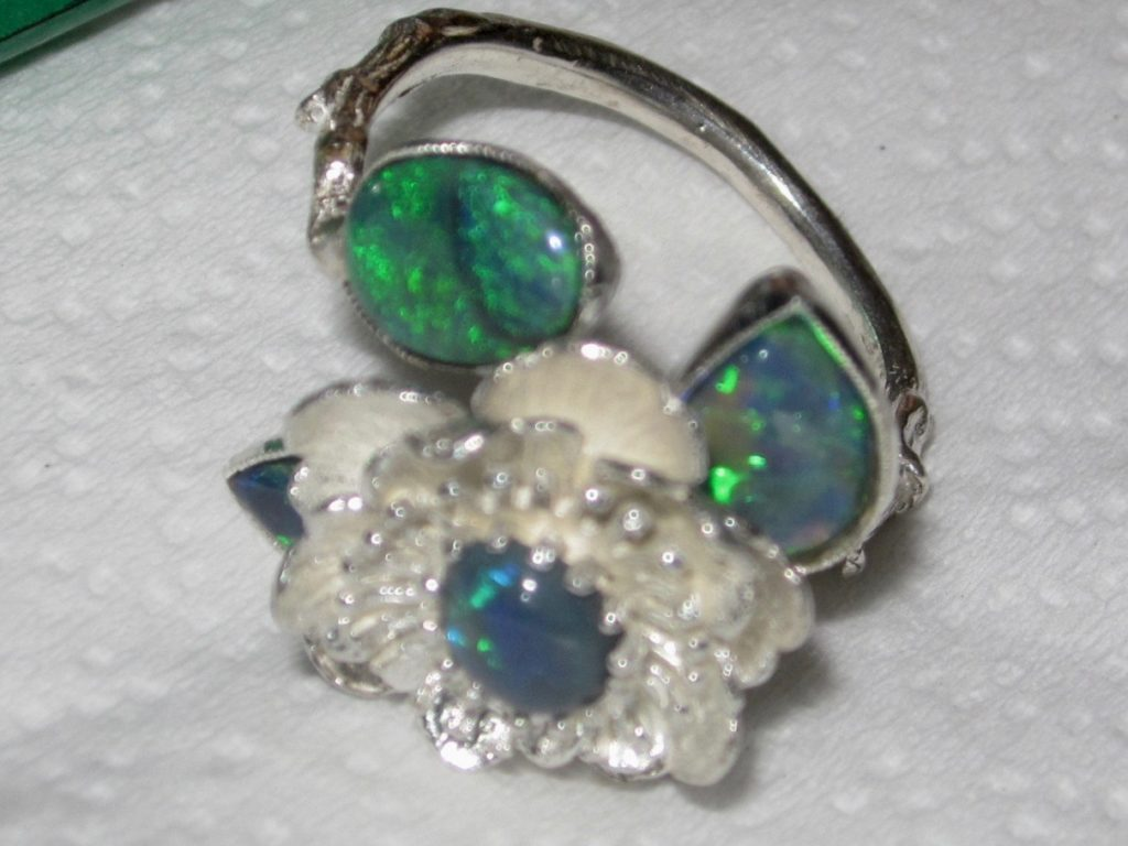 opal rings,gold opal ring,opal ring