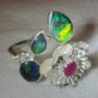 opal ring,jewellery with opal