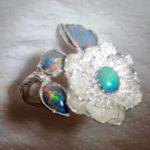 opal rings jewellery