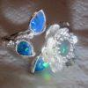 opal ring, jewellery opal ring