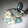 opal ring,opal ring jewellery