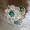 opal rings jewellery,opal ring