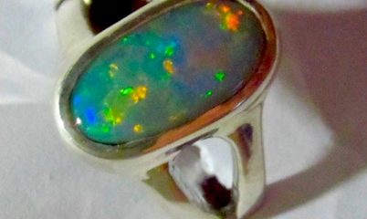 Opal Ring Jewellery.