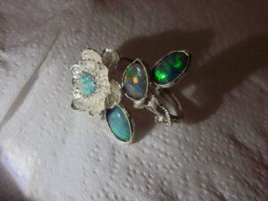 opal ring ,opal ring jewellery