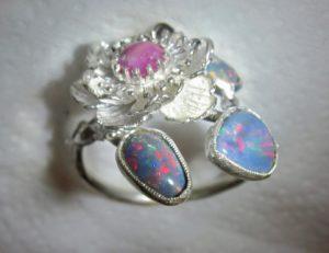 opal ring,opal rings