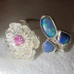 opal engagement ring, engagement opal ring