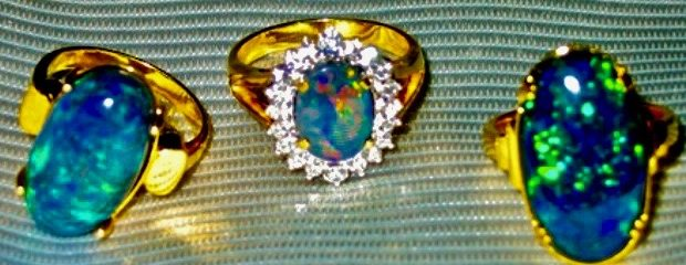Opals Gemstones.