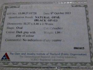 black opal report ,opal report