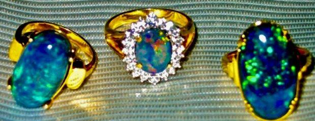 Ring Opal Jewellery.