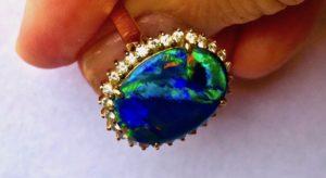 opal ring,ring opal